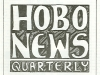 Cover of issue of Hobo News Quarterly, Autumn 1984, Burnside Community Council. (From From the Times: Housing VI)