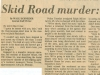 ©1979 The Oregonian. All rights reserved. Reprinted with permission. (From From the Times: Murder)